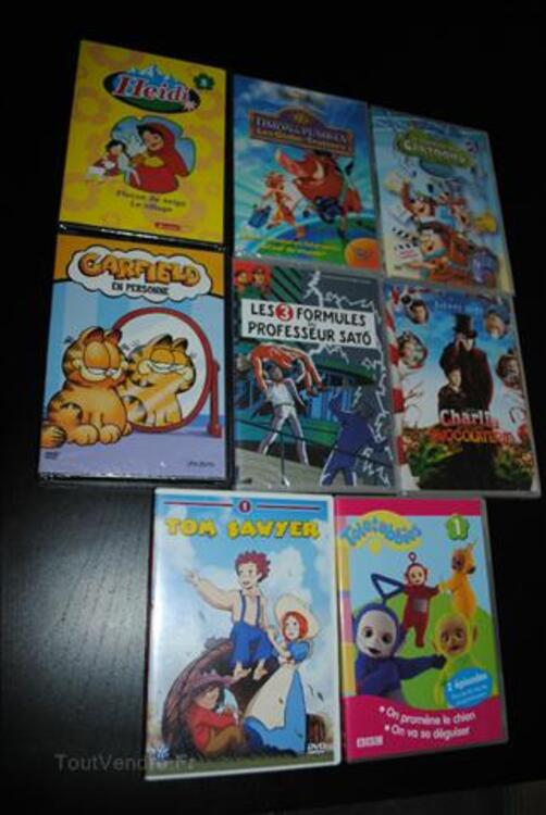 N°1 : Tom Sawyer - Teletubbies enfant lot 3 DVD à 5€ 87915663