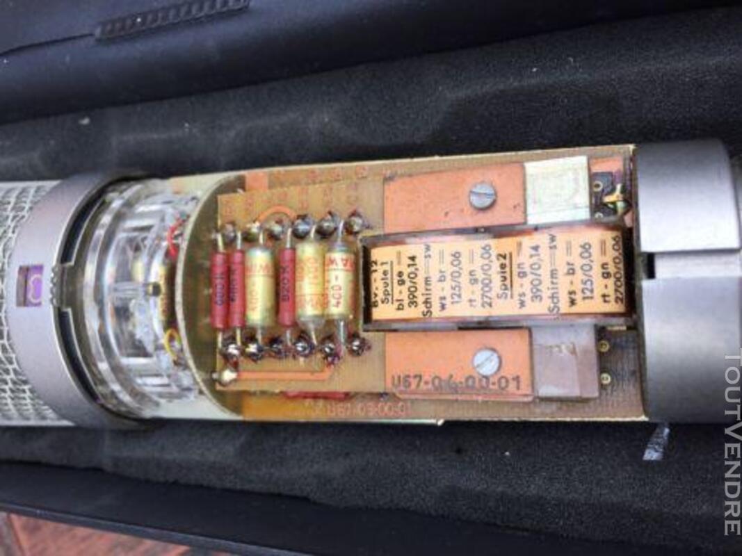 Neumann U67 avec pivotant support, câble et original aliment 338306185