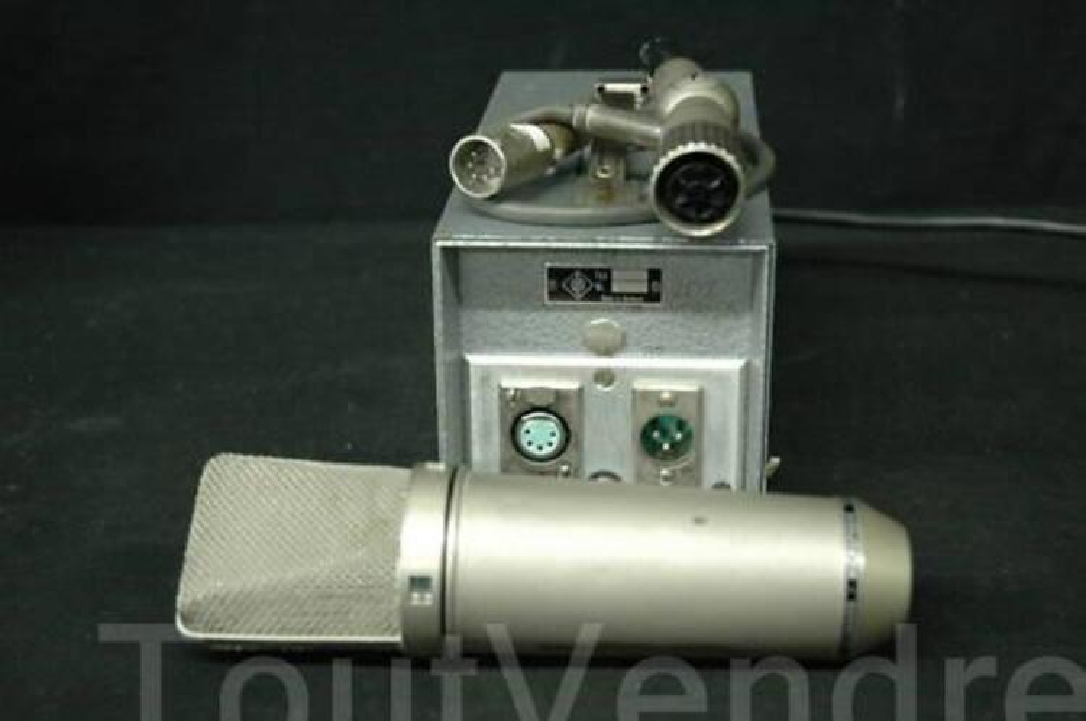 Neumann Vtg U67 Tube Microphone Cable & Power Supply 11367487