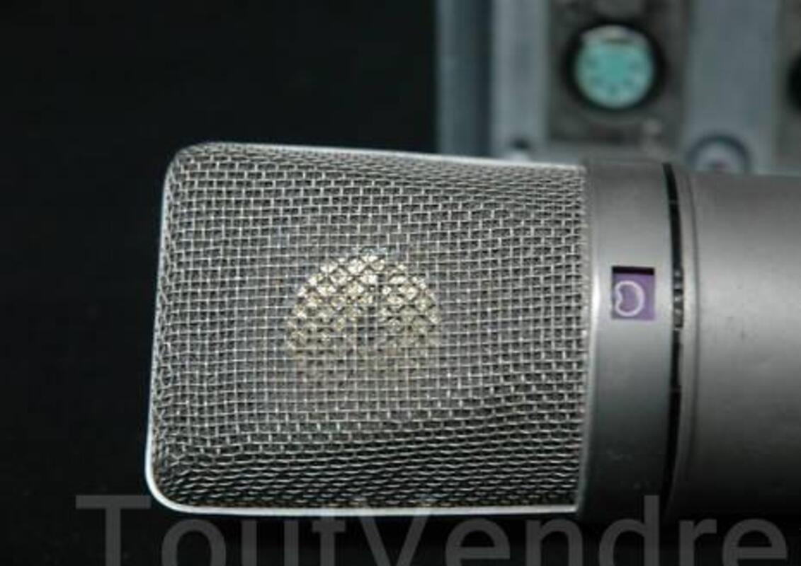 Neumann Vtg U67 Tube Microphone Cable & Power Supply 11367527