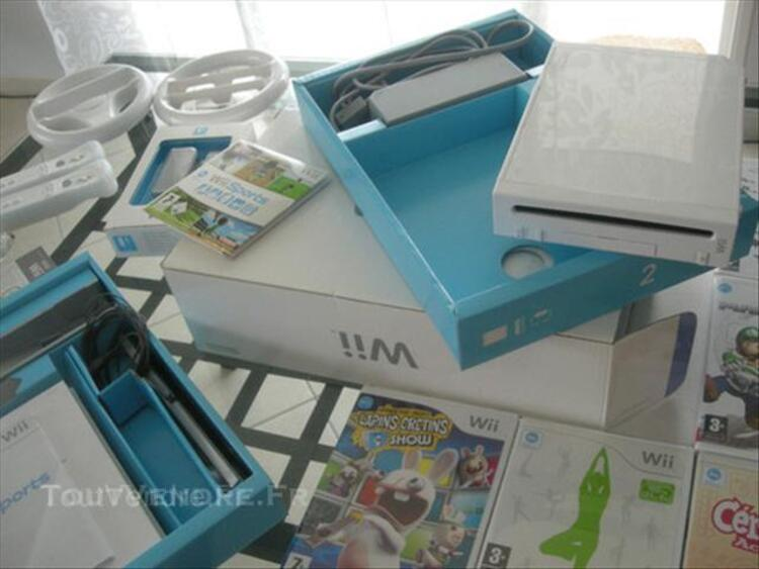 Nintendo Wii + Balance Board + Jeux + accessoires 44962701