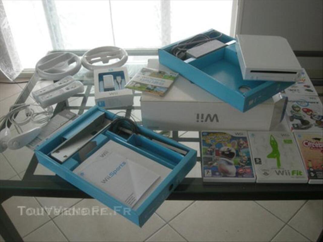 Nintendo Wii + Balance Board + Jeux + accessoires 44962702