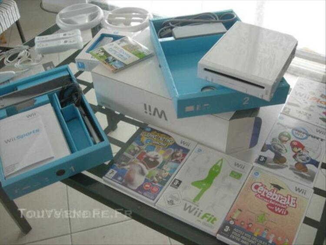 Nintendo Wii + Balance Board + Jeux + accessoires 44962703