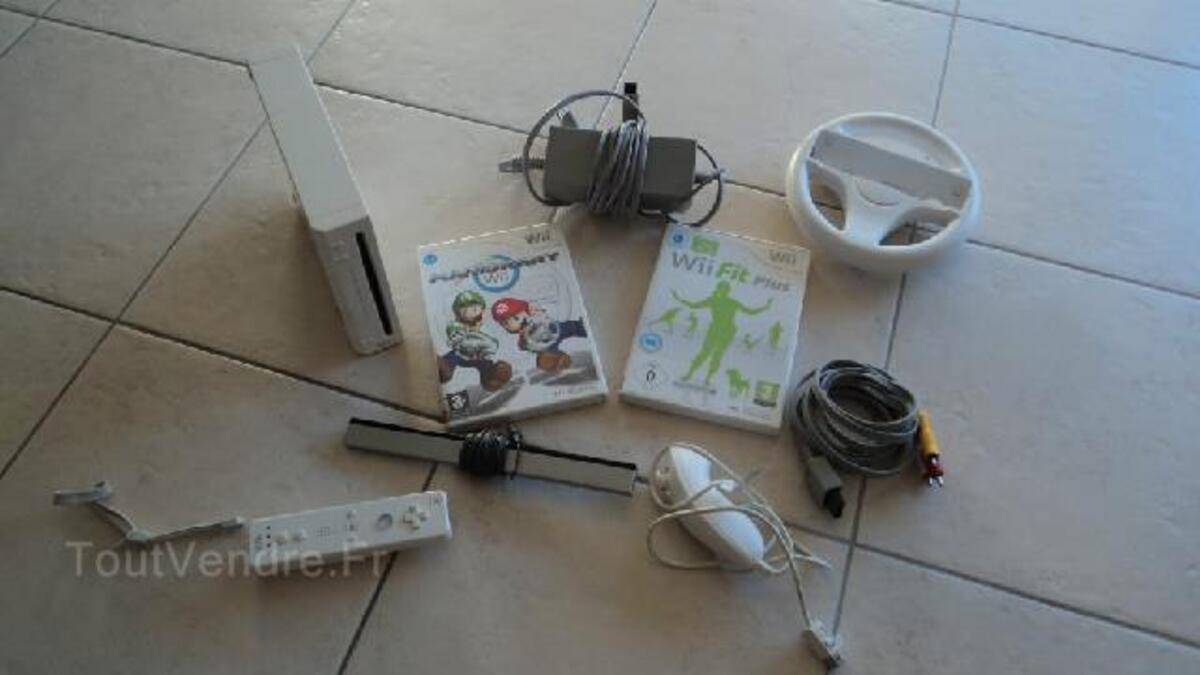 Nintendo Wii + jeux 97142738