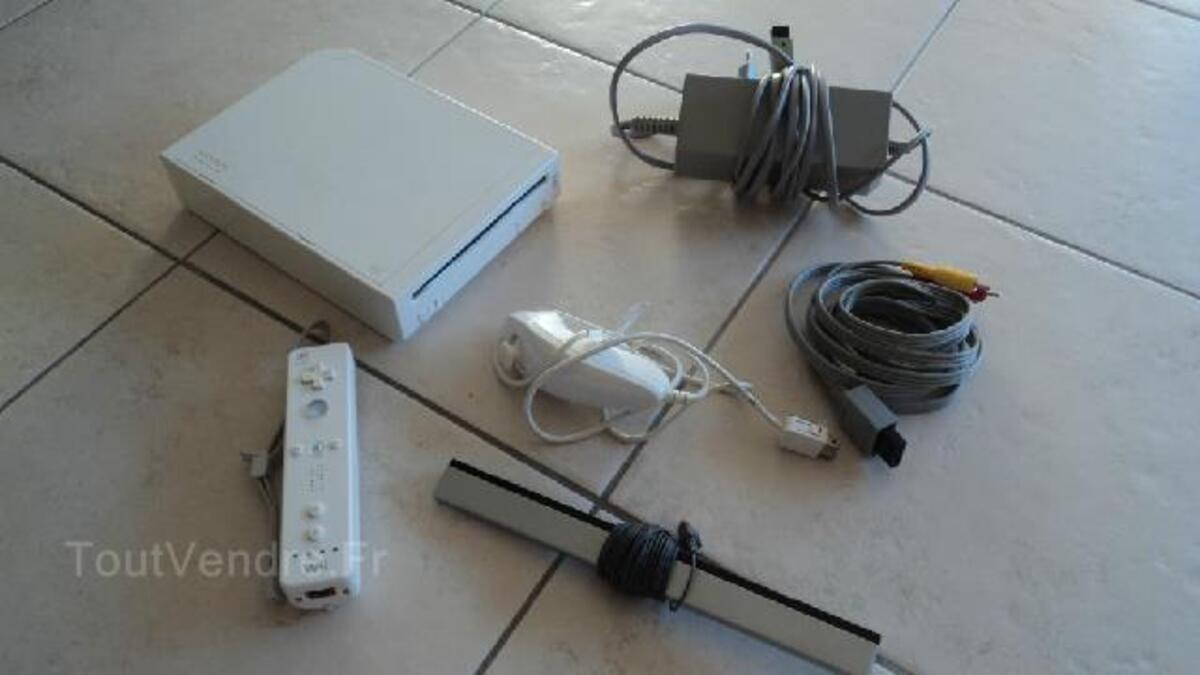 Nintendo Wii + jeux 97142740