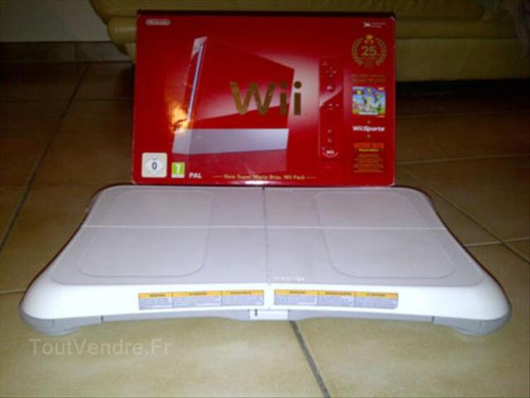 Nintendo Wii rouge + wii balance bord + wii fit plus 56478531