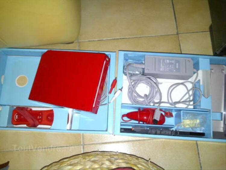 Nintendo Wii rouge + wii balance bord + wii fit plus 56478532