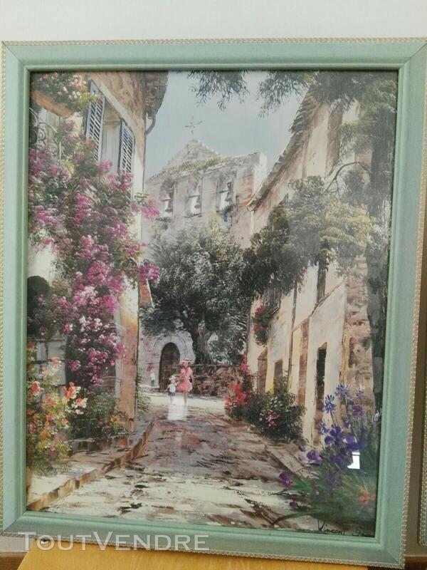 Nombreux tableaux, cadres et miroirs 558734753