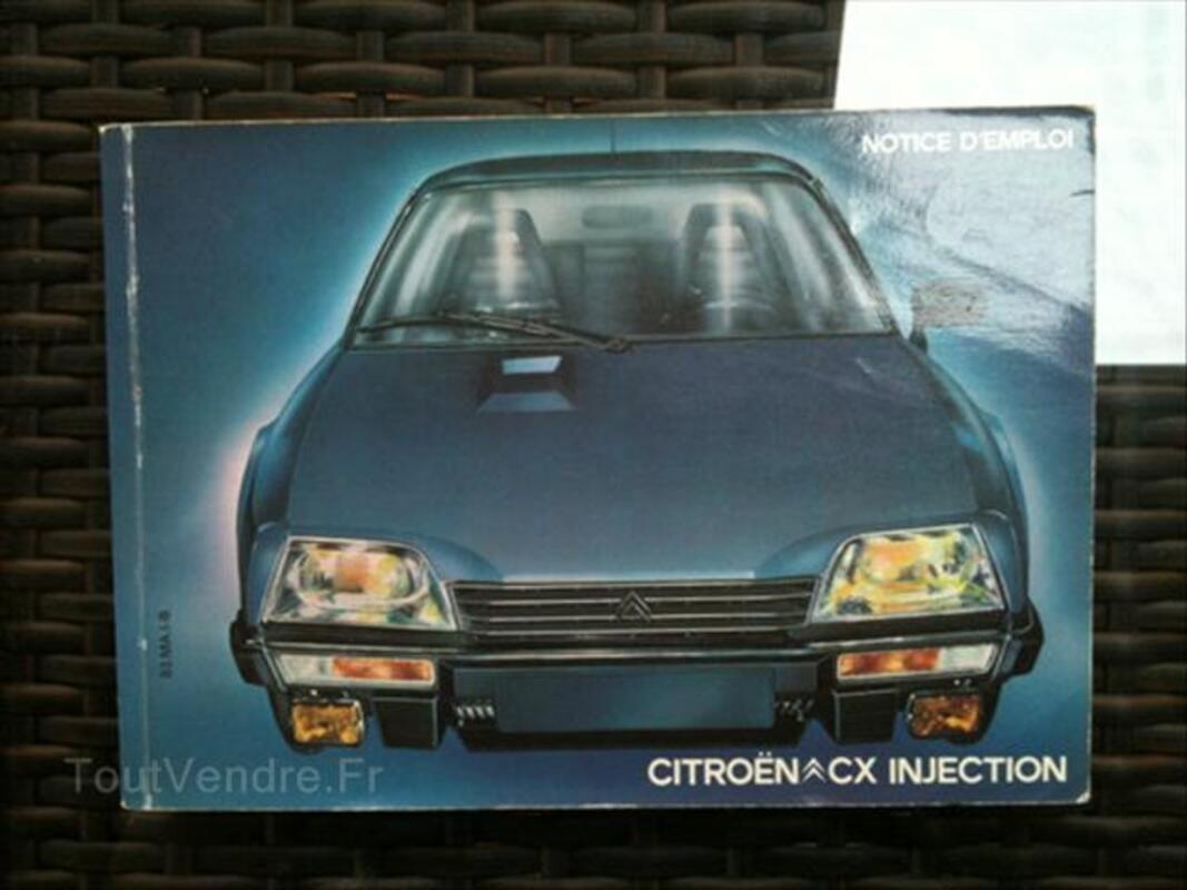Notice emploi Citroën CX, GS/GSA, 2CV 56381212