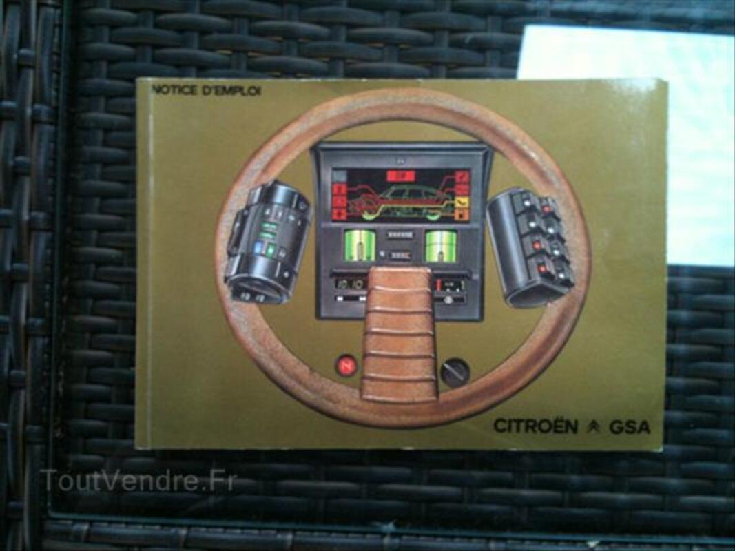 Notice emploi Citroën CX, GS/GSA, 2CV 56381214