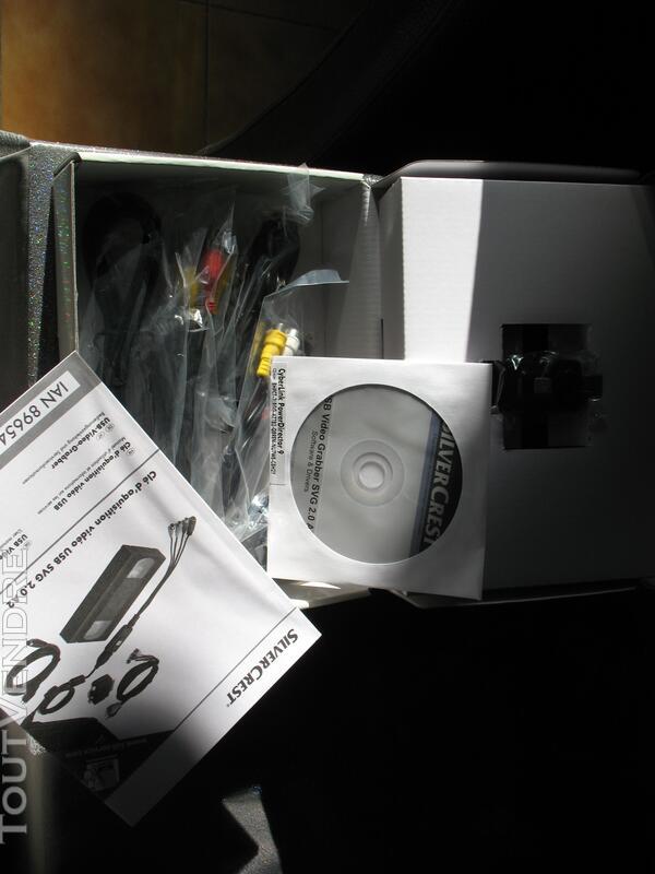 Numériser avec clé d'acquisition Silvercrest USB 265185848