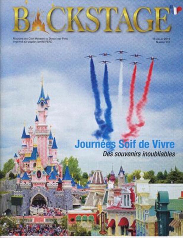 Numero 101 magazine Backstage Disneyland Paris 64546625