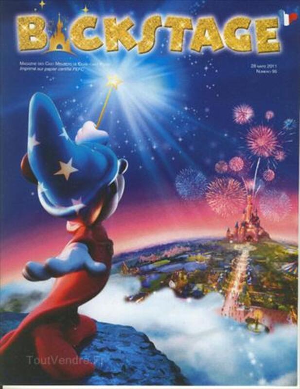 Numero 95 Backstage Disneyland Paris Magazine 64548540