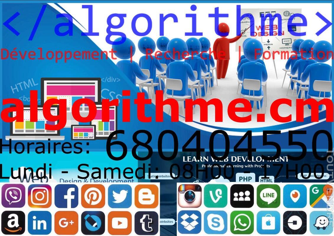 Offrez-vous un site web professionnel à 15 000 F / mois 627900680