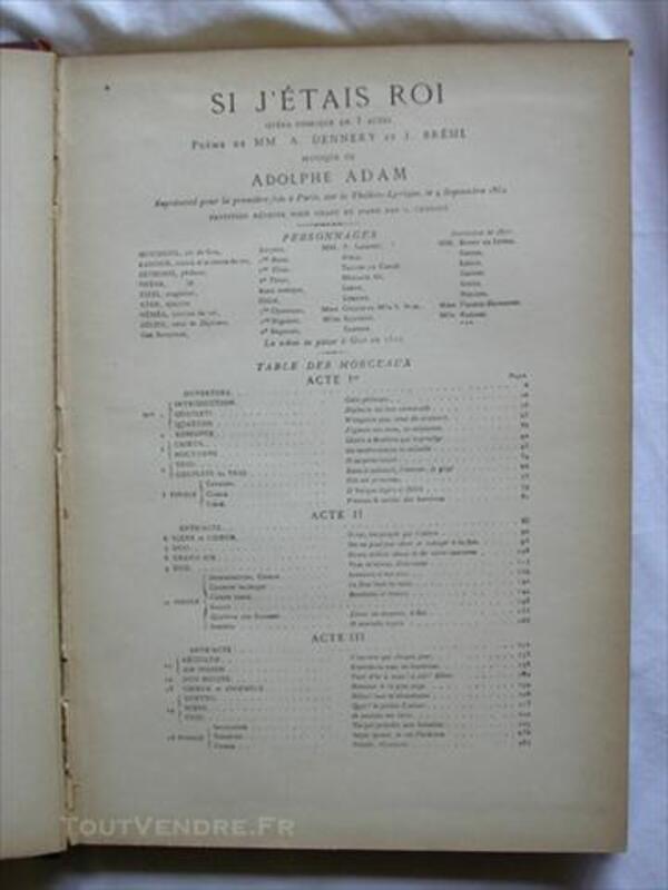 Opéra Comique en Trois Actes ( Si j'étais Roi ) 76738722