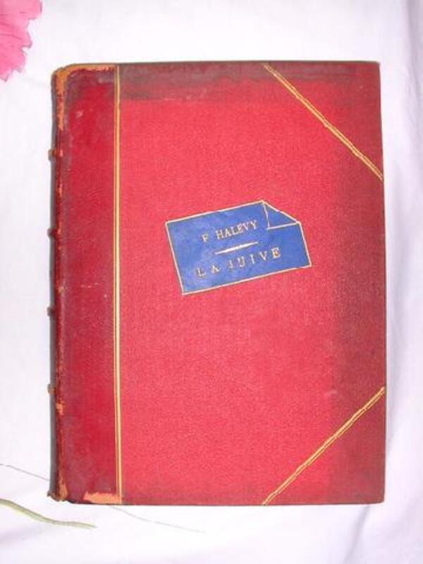 Opéra en Cinq Actes ( La Juive ) 97227450