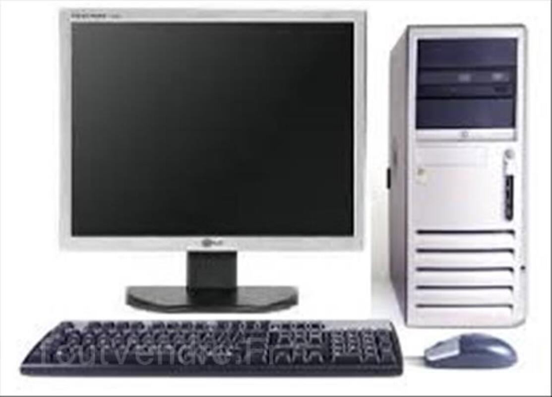 Ordinateur bureau complet HP DC7600 Ecran 17'' 99601768