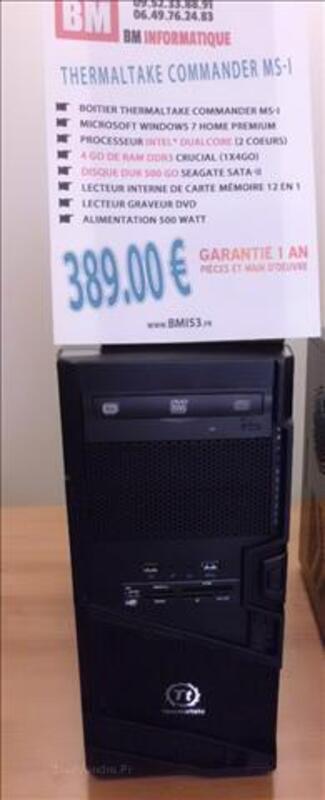 Ordinateur Neuf Dual-Core 4 Go DDR3 Windows 7 71867493