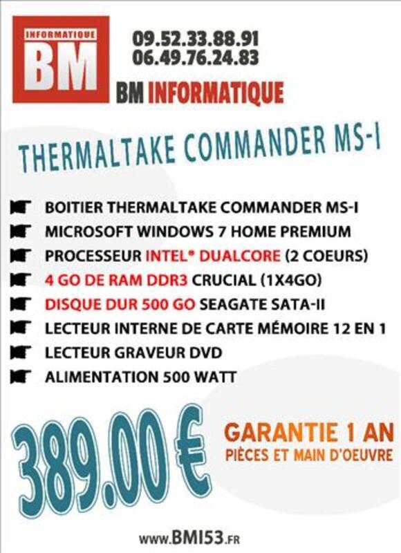 Ordinateur Neuf Dual-Core 4 Go DDR3 Windows 7 71867494