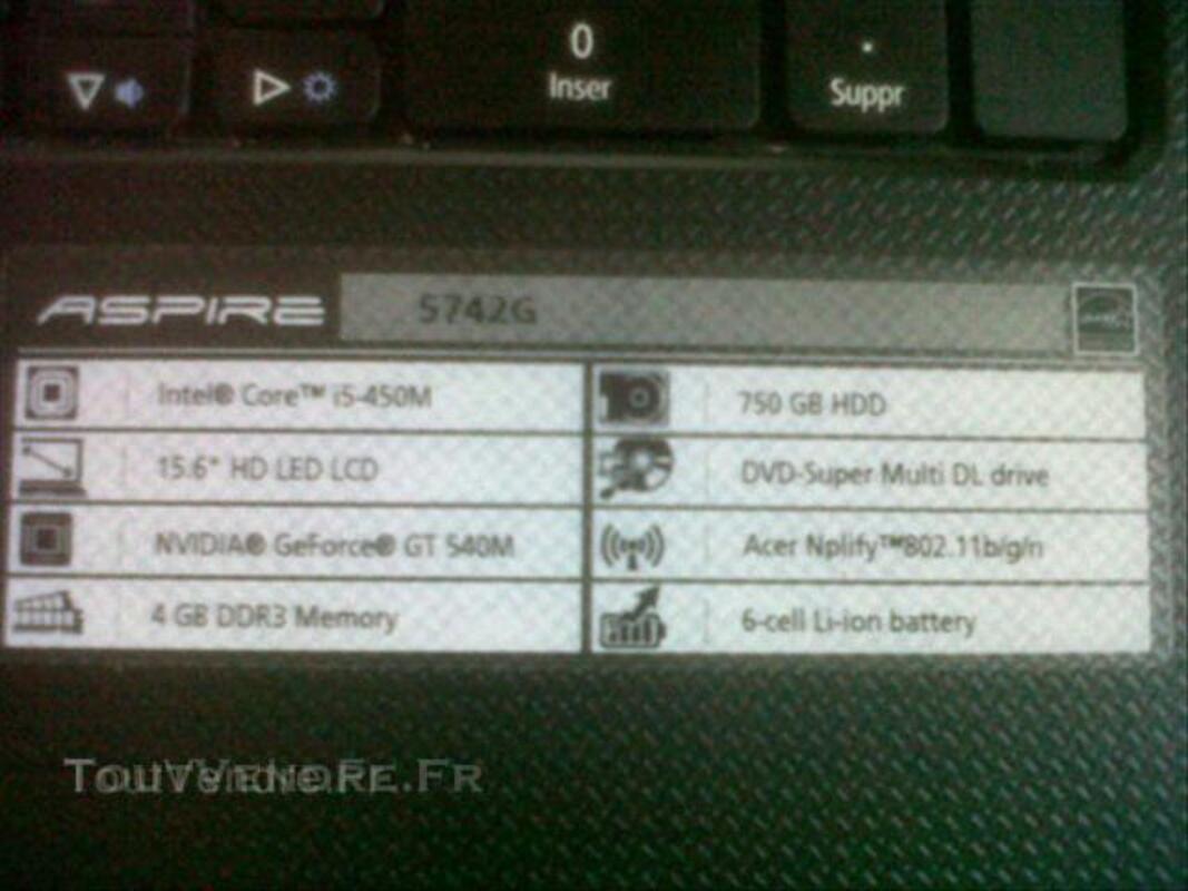 Ordinateur portable Acer Aspire 5742G 47858314