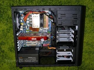 Ordinateur Quad Q9550 (2.83 GHZ) + Radeon HD5870 ...
