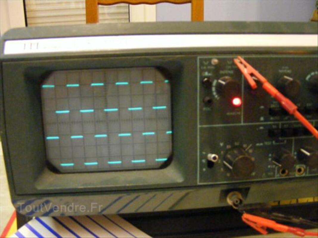 Oscilloscope Metrix/ITT  OX710C 2x15Mhz  très bon état 64599944