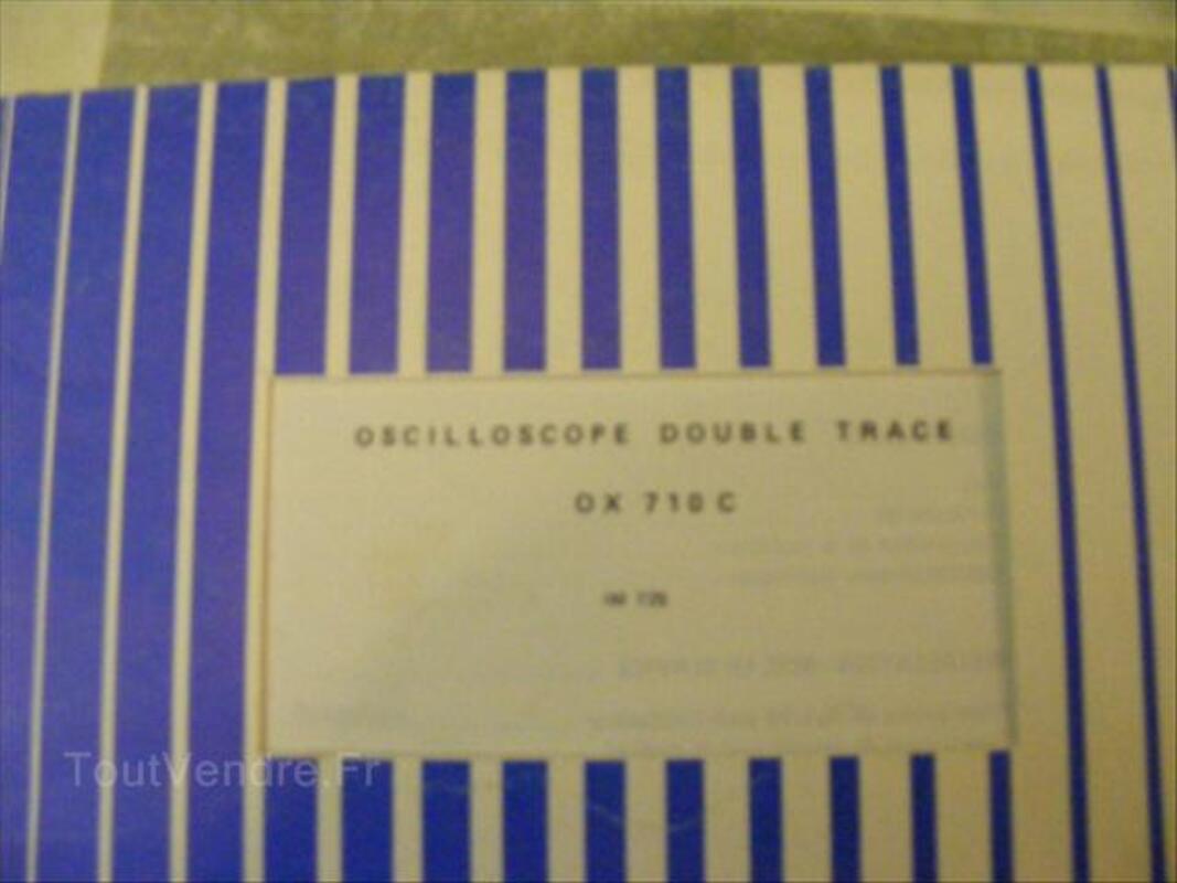 Oscilloscope Metrix/ITT  OX710C 2x15Mhz  très bon état 64599945