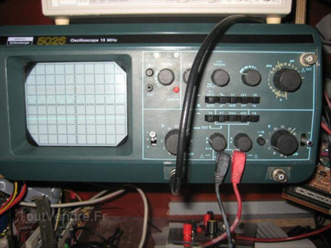 Oscilloscope Schluberger ou itt ou metrix 87349953