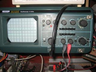 Oscilloscope Schluberger ou itt ou metrix