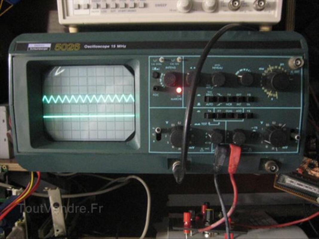 Oscilloscope Schluberger ou itt ou metrix 87349954