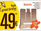 Pack Cartons Studio T1 - Rouen