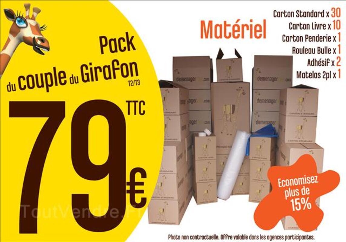 Pack Cartons T2 T3 - Rouen 44829889