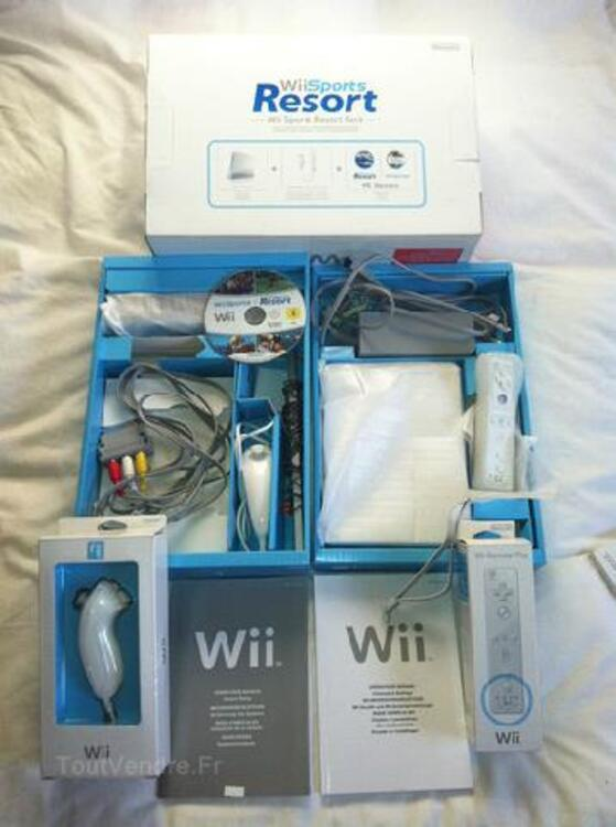 PACK CONSOLE WII + WII FIT PLUS + JEUX 91559703