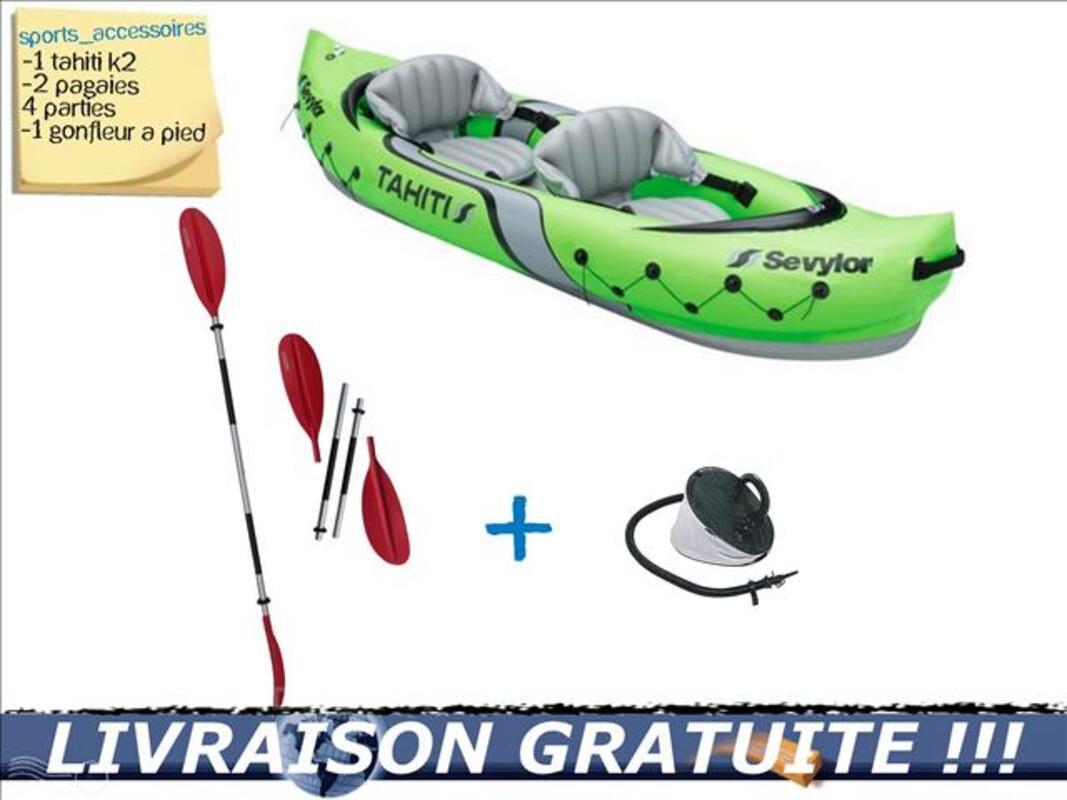 PACK Kayak gonflable Sevylor TAHITI 2 places 76087174
