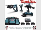 PACK MAKITA 4 MACHINES
