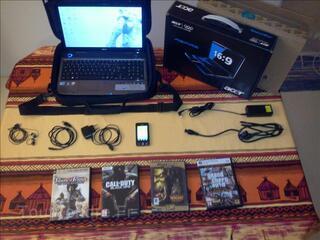 Pack PC Acer Aspire intel core i5 + TEL portable + JEUX