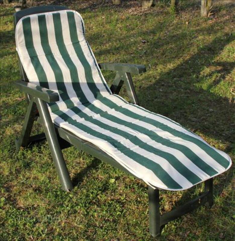 Paire de chaises longues de jardin 72284404