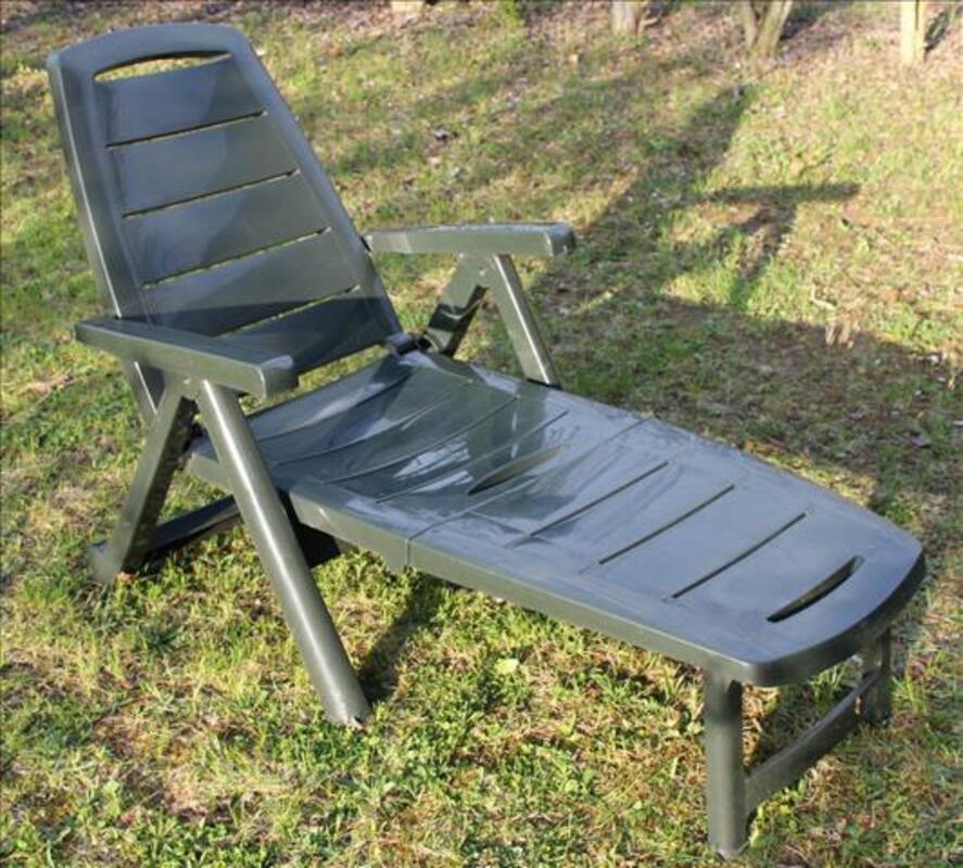 Paire de chaises longues de jardin 72284405