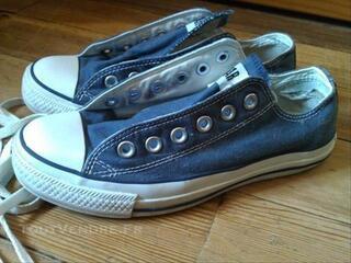 Paire de Converse bleu marine taille 38 très bon état