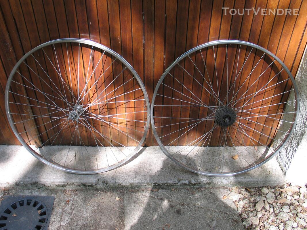 Paire roues de vélo adulte 691035177