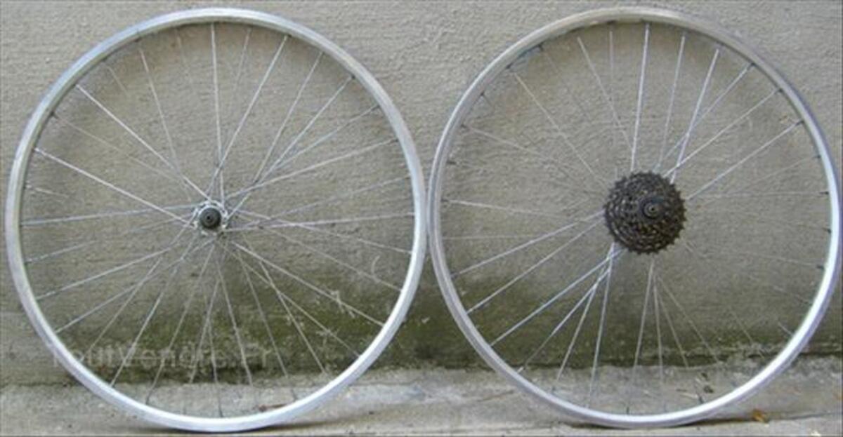 Paires de roues vtt moyeu Z jantes Rigida 66105011