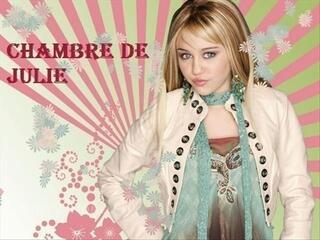Pancarte de porte personnalisée Hannah Montana