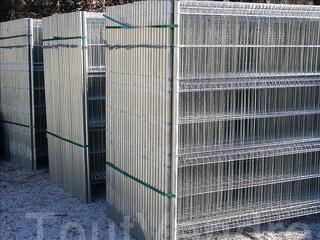 Panneaux de clôtures mobiles neufs de chantier 3,50 x 1,90