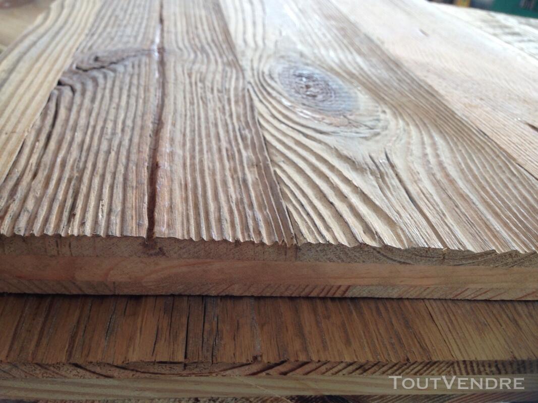 Panneaux trois plis vieux bois 122979086