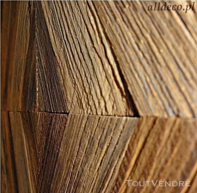 Panneaux trois plis vieux bois 122979093