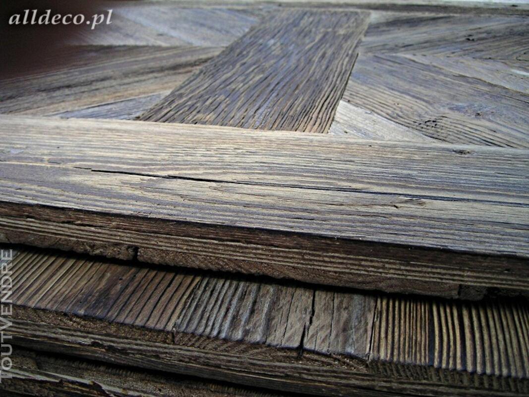 Panneaux trois plis vieux bois 122979108