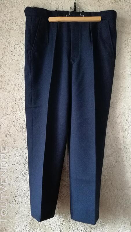 Pantalon à Plis Vintage Dandy Années 40 Excellent État 427030849
