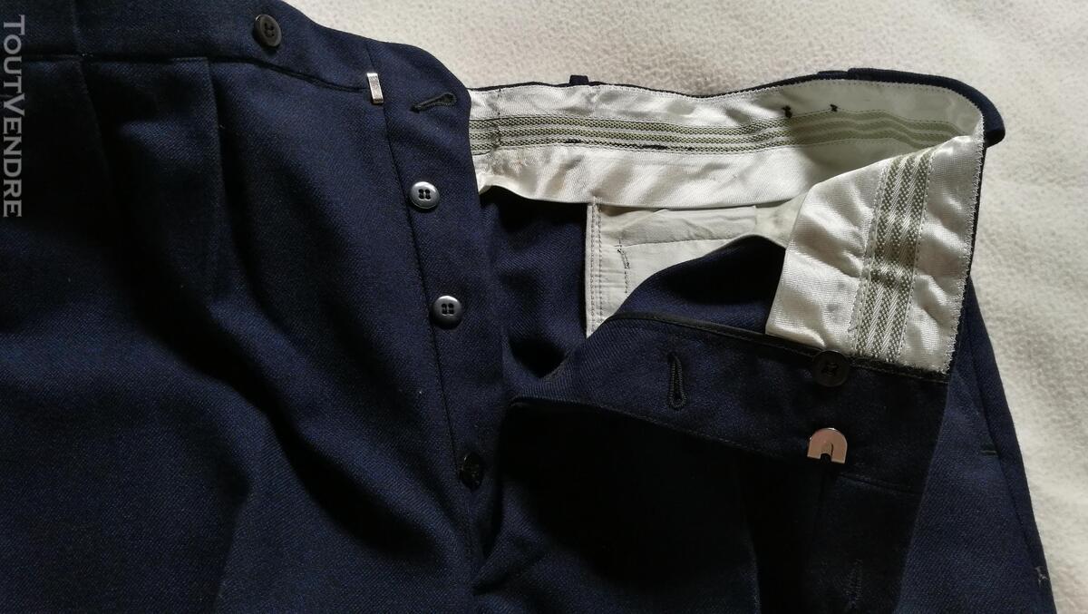 Pantalon à Plis Vintage Dandy Années 40 Excellent État 427030912
