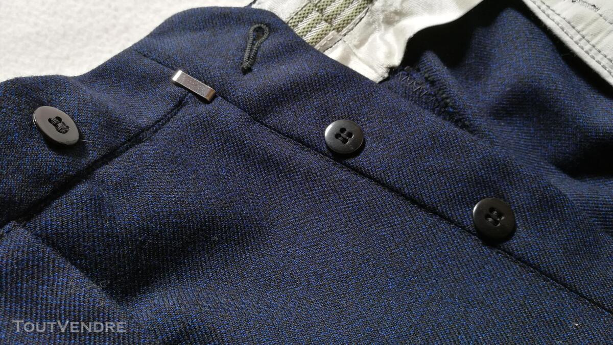 Pantalon à Plis Vintage Dandy Années 40 Excellent État 427030942