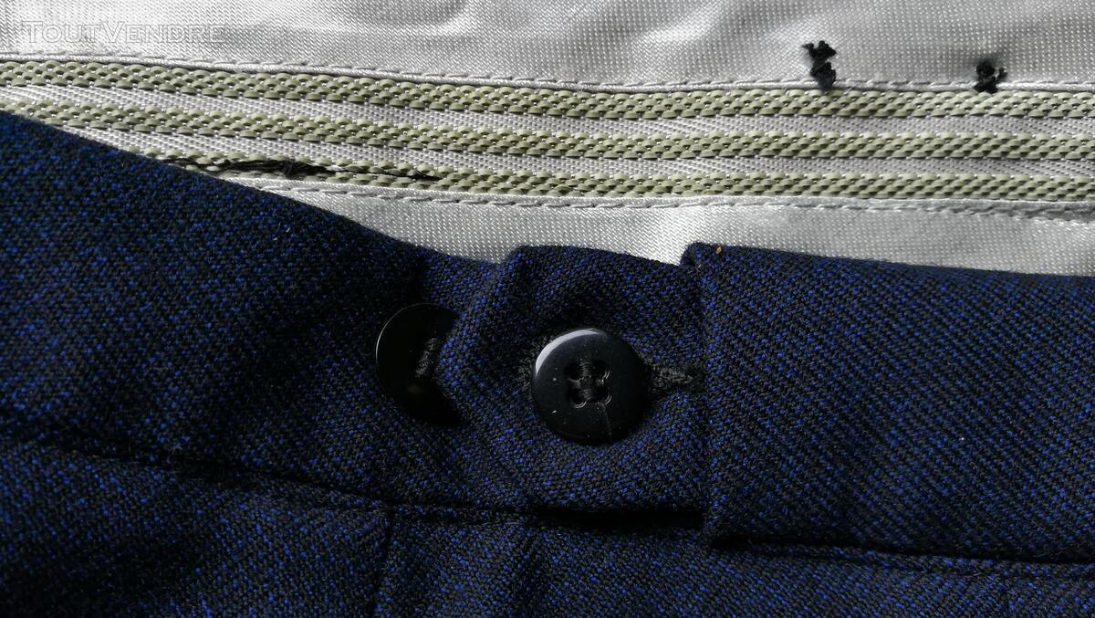 Pantalon à Plis Vintage Dandy Années 40 Excellent État 427031012